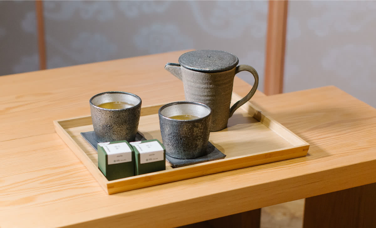 Shikikaboku special tea set